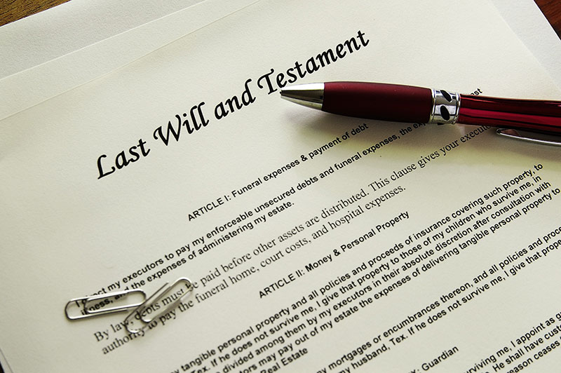 Wills, Probate and Administration of Estates